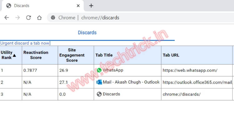 How To Enable or Disable Tab Freezing in Google Chrome
