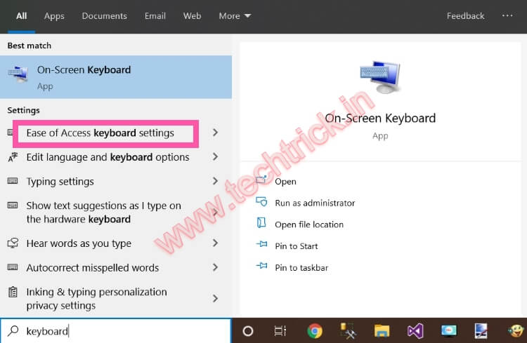 7 Ways To Turn off Sticky keys Windows 10