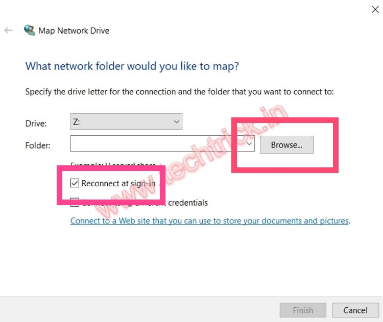How To Map Network Drive Windows 10