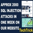 Approx 2000 Sql Injection Attack In One Week On Our Website