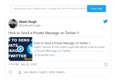 How To Embed a Tweet on Your Website or Blog