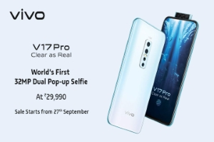 Vivo V17 Pro Featuring Dual Pop up Selfie Camera Launched