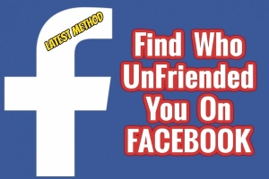 Find Out When Someone Unfriends You On Facebook
