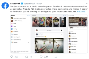 Your Facebook Just Got A New Design