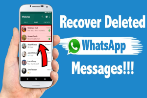How To Recover Your Deleted Messages On WhatsApp
