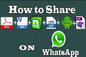 Send Large Files of Formats Like ZIP RAR APK EXE PDF DOC