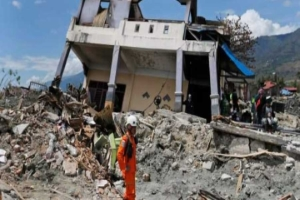 Strongest Earthquake In Indonesia, 6.2 Percent On The Richter Scale