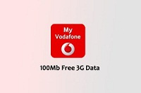 My Vodafone App Loot – Get free 100 MB 3G Data on Sign up