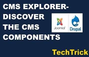CMS Explorer-Discover the CMS components