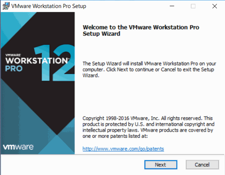how to install vmware Workstation