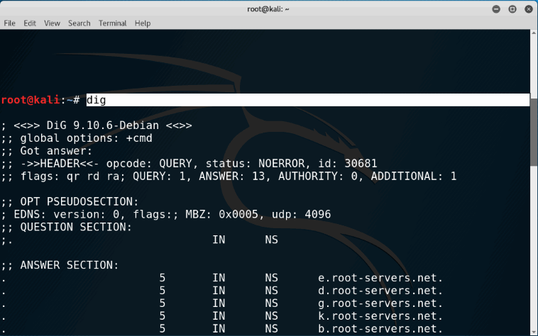 Hacking Dns Lookup With Dig