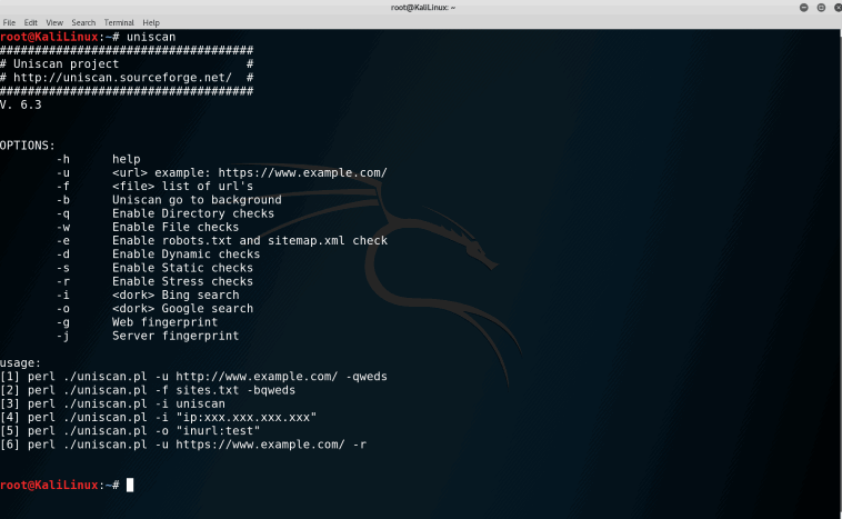 How to find website vulnerabilities in Kali Linux - Uniscan