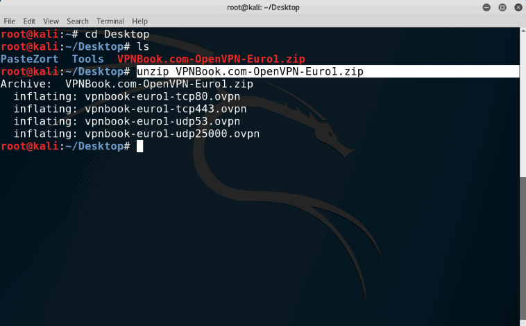 How To Install And Configure Free VPN On Kali Linux