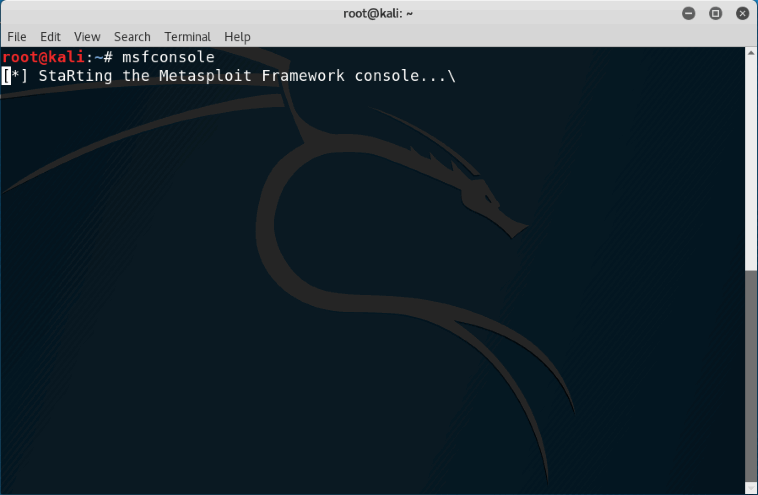 Introduction to Metasploit with  Basic commands