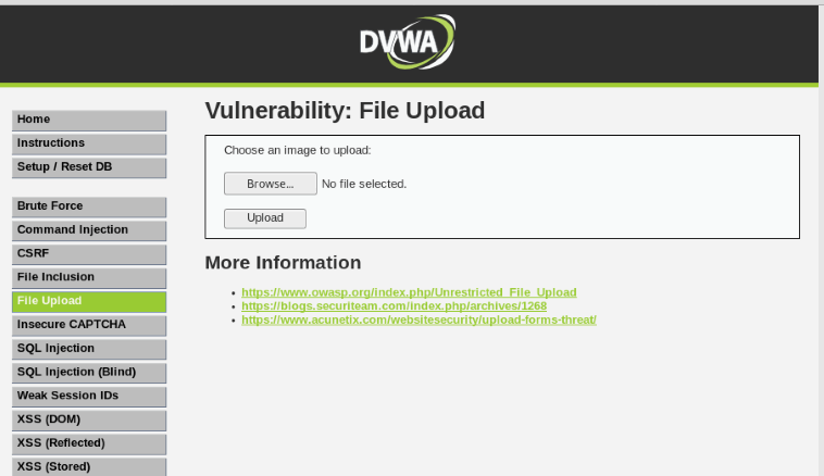 Command Injection Exploitation in DVWA