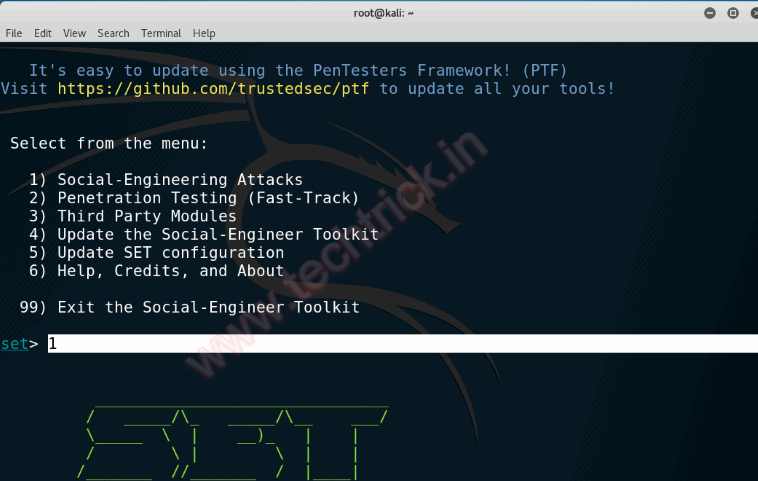 How to Hack Facebook using SEToolKit Phishing attack