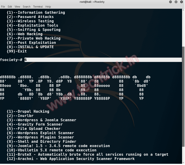 How to install Hacking Tools for Penetration Testing - fsociety