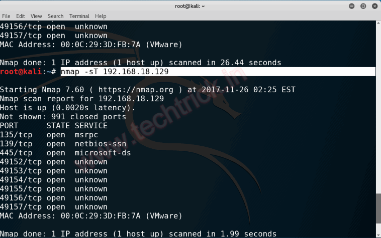 Ping Sweeps, Port Scans, IP Spoofing and Gathering Information - NMAP