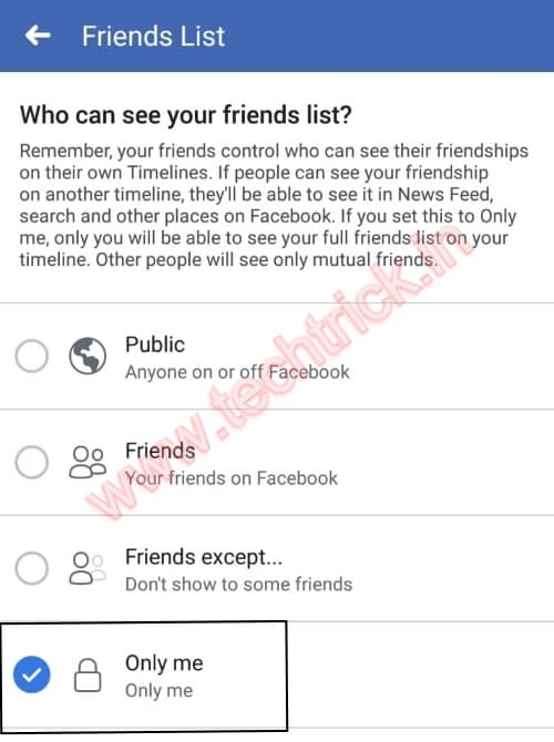 How To Hide Friends On Facebook App