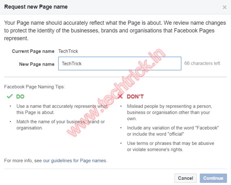 How To Change Business Name On Facebook