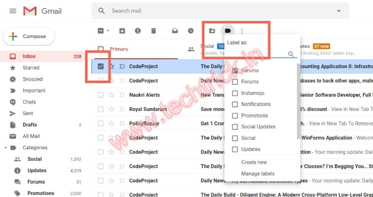 How To Remove A Label In Gmail