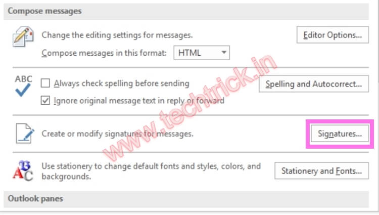 How To Change Signature In Outlook