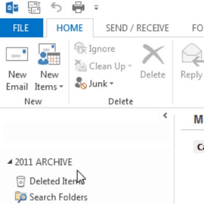 best way to archive outlook emails
