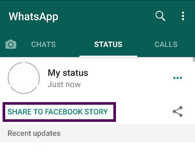 WhatsApp's New Feature Lets You Share Status To Facebook