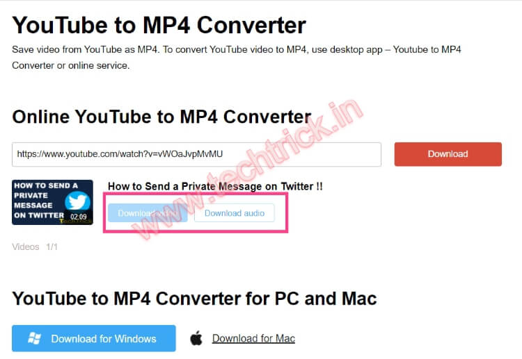 How to Download Videos Via Online YouTube to MP4 Converter