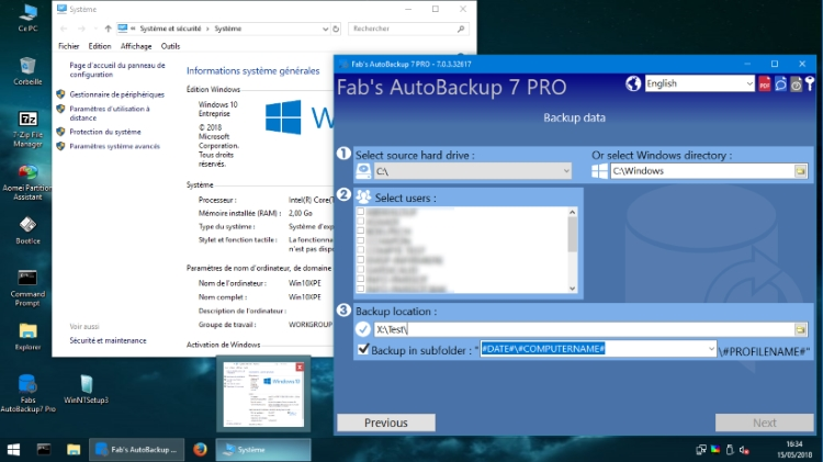 Fab AutoBackup A Free Security program for Windows